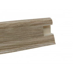 Lišta PVC obvodová SLK50 W461 Dub shiro