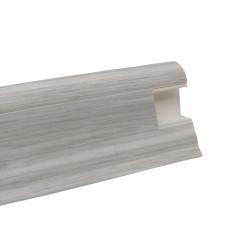 Lišta PVC obvodová SLK50 W648 Dub bílý