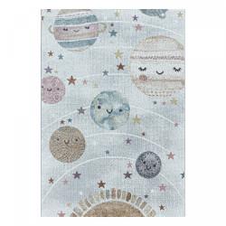 AKCE: 120x170 cm Dětský kusový koberec Funny 2105 white