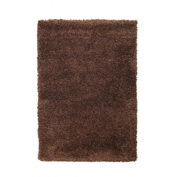 Devos koberce Kusový koberec FUSION 91311 D. Brown, kusových koberců 120x170 cm% Hnědá - Vrácení do 1 roku ZDARMA vč. dopravy + možnost zaslání vzorku zdarma