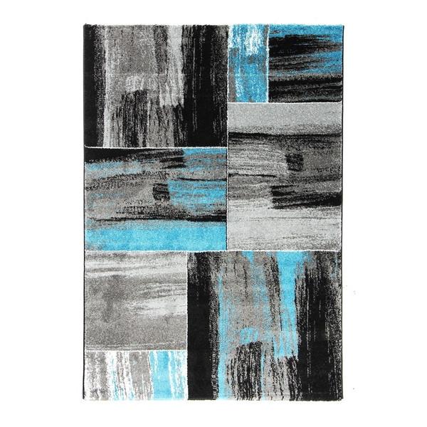 Ayyildiz koberce Kusový koberec HAWAII - Lima 1350 Tyrkis, koberců 160x230 cm Šedá - Vrácení do 1 roku ZDARMA