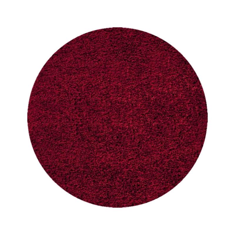 Kusový koberec Dream Shaggy 4000 Red Kruh