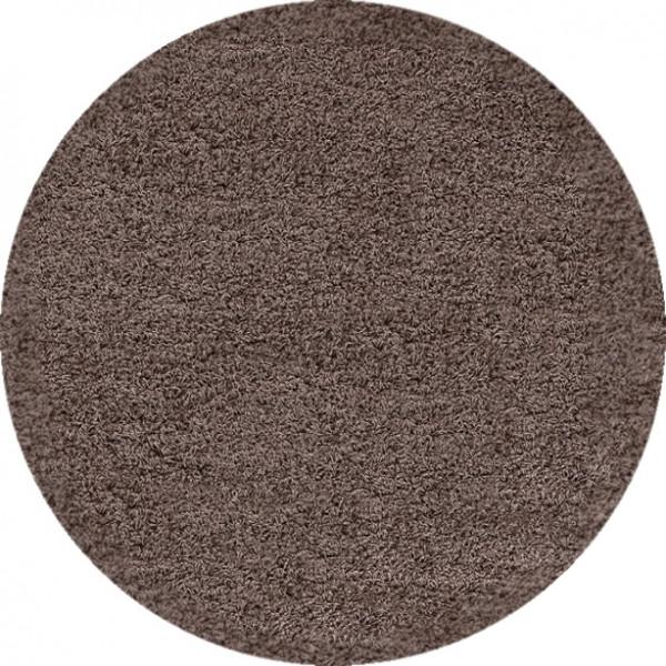 Kusový koberec Dream Shaggy 4000 Mocca kruh