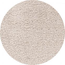 Kusový koberec Dream Shaggy 4000 Cream kruh