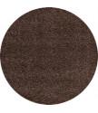 Kusový koberec Dream Shaggy 4000 Brown kruh