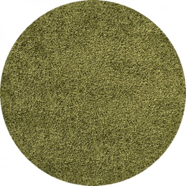 Kusový koberec Dream Shaggy 4000 Green kruh
