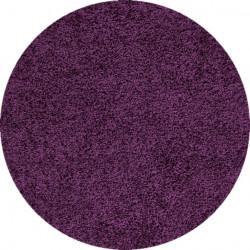 Kusový koberec Dream Shaggy 4000 Lila kruh