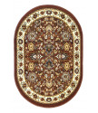 Kusový koberec TEHERAN-T 117/brown ovál