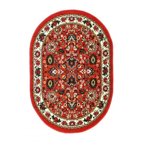 Kusový koberec TEHERAN-T 117/red ovál
