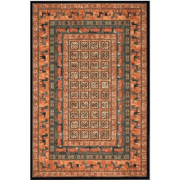 Osta luxusní koberce Kusový koberec Kashqai 4301 500, kusových koberců 200x300 cm% Oranžová - Vrácení do 1 roku ZDARMA vč. dopravy