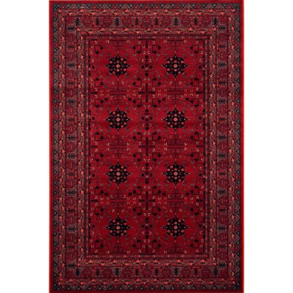 Osta luxusní koberce Kusový koberec Kashqai (Royal Herritage) 4302 300, koberců 67x130 cm Červená - Vrácení do 1 roku ZDARMA