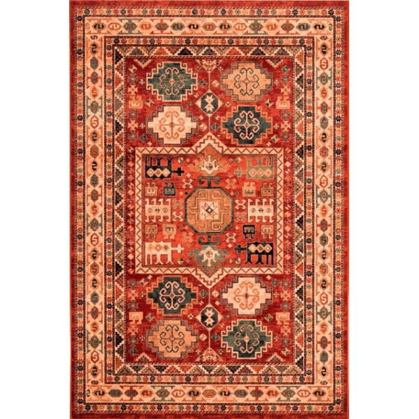 Osta luxusní koberce Kusový koberec Kashqai (Royal Herritage) 4306 300, koberců 67x130 cm Červená - Vrácení do 1 roku ZDARMA