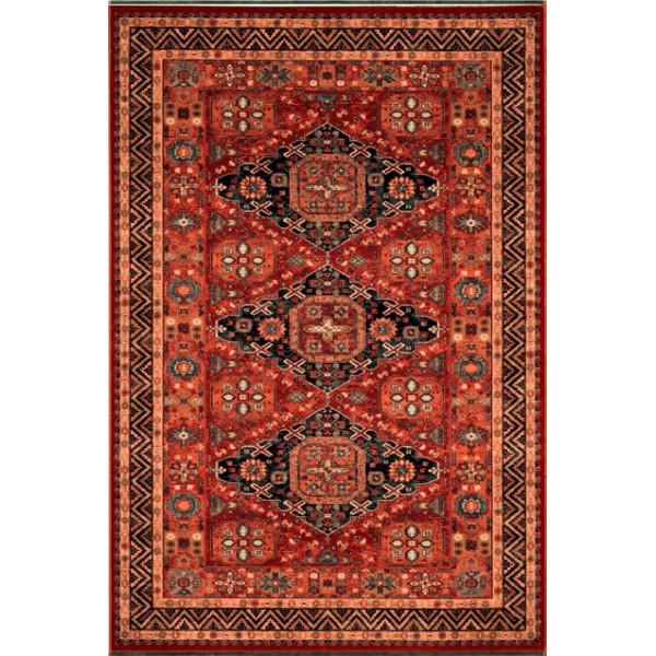 Osta luxusní koberce Kusový koberec Kashqai (Royal Herritage) 4308 300, koberců 67x130 cm Červená - Vrácení do 1 roku ZDARMA