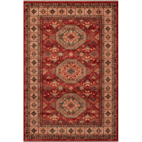 Osta luxusní koberce Kusový koberec Kashqai (Royal Herritage) 4317 300, koberců 80x160 cm Červená - Vrácení do 1 roku ZDARMA