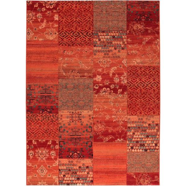 Osta luxusní koberce Kusový koberec Kashqai (Royal Herritage) 4327 300, koberců 67x130 cm Červená - Vrácení do 1 roku ZDARMA