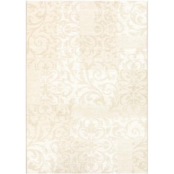 Osta luxusní koberce Kusový koberec Piazzo 12111 100, koberců 120x170 cm Bílá, Béžová - Vrácení do 1 roku ZDARMA