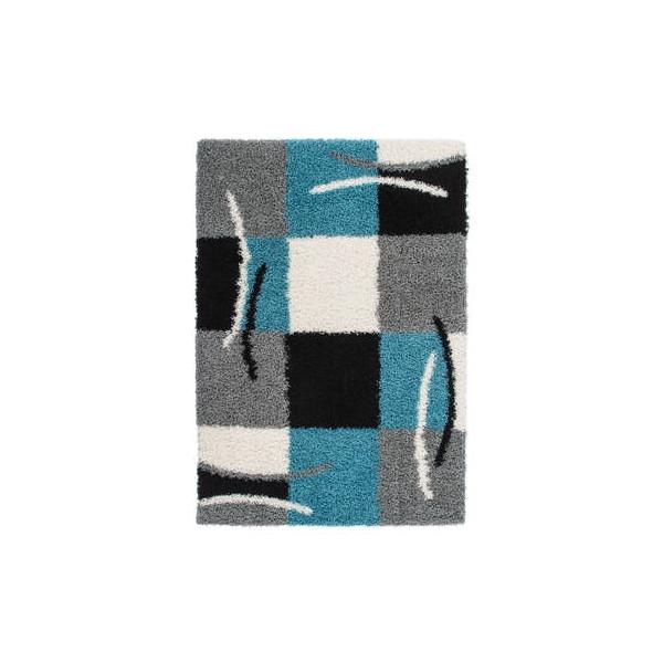 Lalee koberce Kusový koberec Joy JOY 120 blue, kusových koberců 80x150 cm% Šedá - Vrácení do 1 roku ZDARMA vč. dopravy