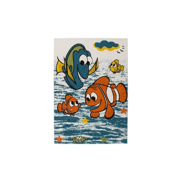Lalee koberce Kusový koberec Amigo AMI 319 fish, kusových koberců 120x170 cm% Modrá - Vrácení do 1 roku ZDARMA vč. dopravy