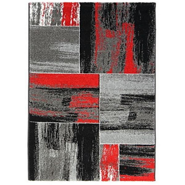 Ayyildiz koberce Kusový koberec HAWAII - Lima 1350 Red, koberců 160x230 cm Šedá - Vrácení do 1 roku ZDARMA