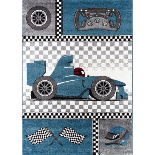Ayyildiz koberce Kusový koberec Kids 460 blue, 80x150 cm% Modrá - Vrácení do 1 roku ZDARMA vč. dopravy