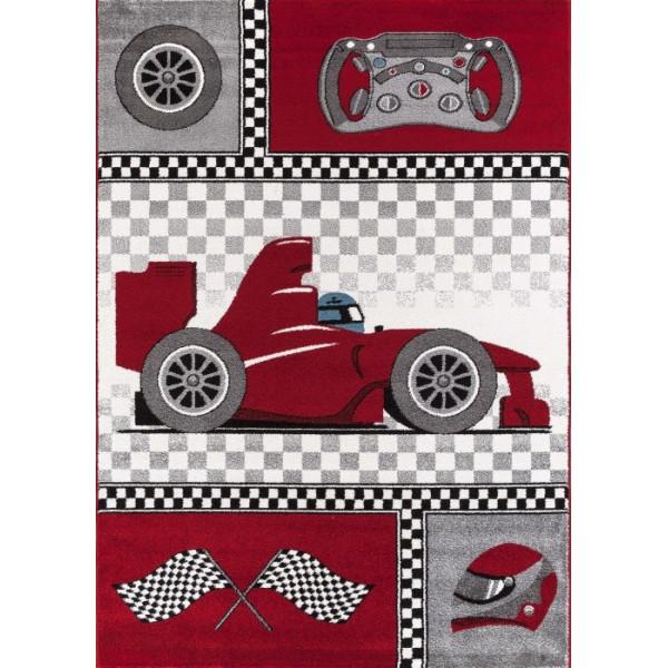 Ayyildiz koberce Kusový koberec Kids 460 red, kusových koberců 80x150 cm% Červená - Vrácení do 1 roku ZDARMA vč. dopravy