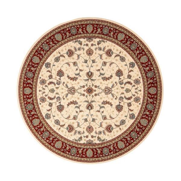 Osta luxusní koberce Kusový koberec Diamond 7244 104 kruh, koberců 240x240 cm Béžová - Vrácení do 1 roku ZDARMA