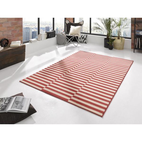 Hanse Home Collection koberce Kusový koberec Gloria 102407, 80x200 cm% Červená - Vrácení do 1 roku ZDARMA vč. dopravy