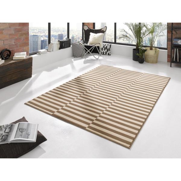 Hanse Home Collection koberce Kusový koberec Gloria 102405, 80x200 cm% Hnědá - Vrácení do 1 roku ZDARMA vč. dopravy