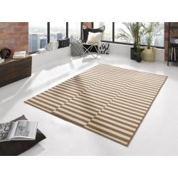 Kusový koberec GLORIA Panel Creme Braun