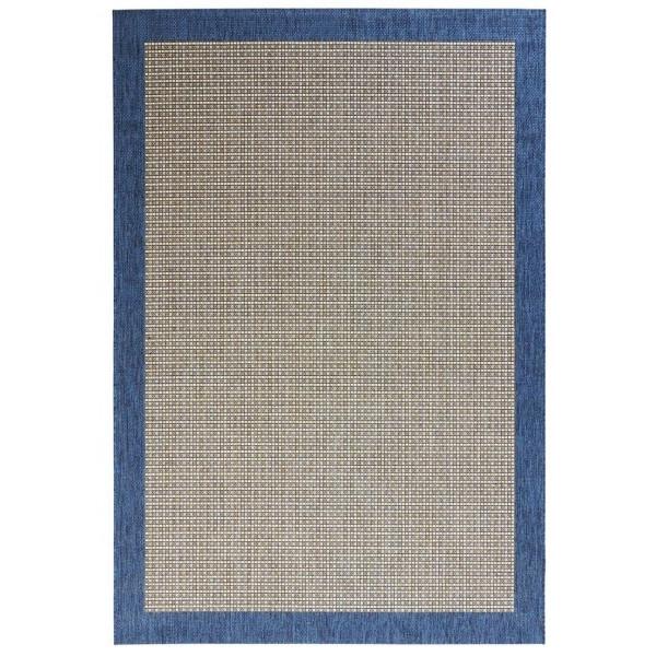Kusový koberec Natural 102718 Blau