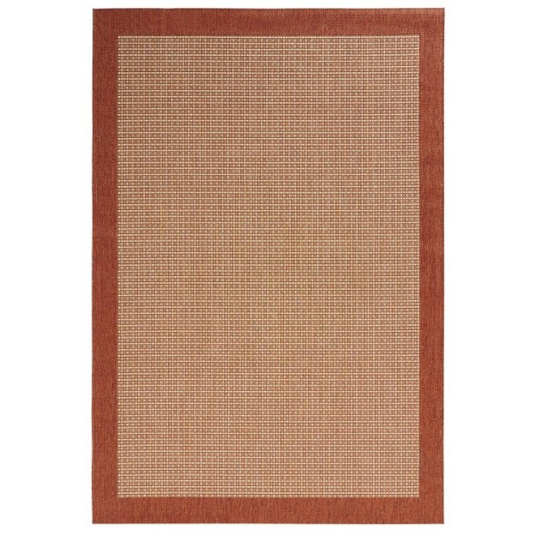 Kusový koberec Natural 102717 Terracotta