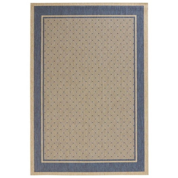 Kusový koberec Natural 102712 Classy Blau