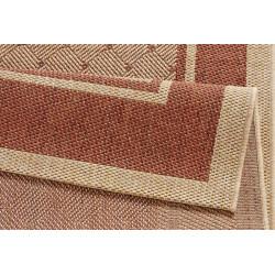 Kusový koberec Natural 102711 Classy Terracotta