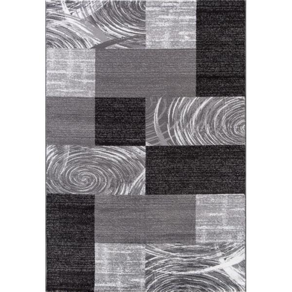 Ayyildiz koberce Kusový koberec Parma 9220 black, kusových koberců 80x150 cm% Šedá - Vrácení do 1 roku ZDARMA vč. dopravy