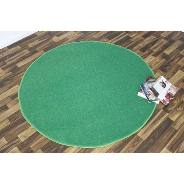 Hanse Home Collection koberce Kusový koberec Nasty 102367 Türkis kruh, koberců 133x133 - kruh Sleva 10% Zelená - Vrácení do 1 roku ZDARMA