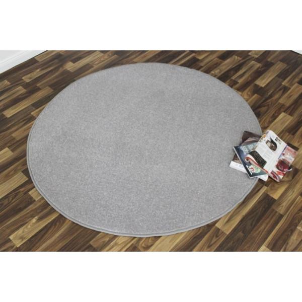 Hanse Home Collection koberce Kusový koberec Nasty 101595 Silber kruh, kusových koberců 133x133 - kruh% Šedá - Vrácení do 1 roku ZDARMA vč. dopravy