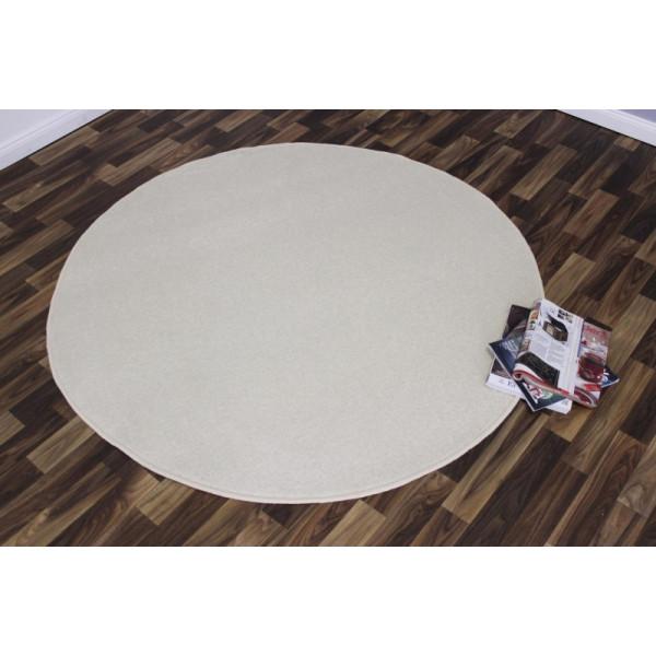Hanse Home Collection koberce Kusový koberec Nasty 101152 Creme kruh, koberců 133x133 - kruh Sleva 10% Béžová - Vrácení do 1 roku ZDARMA