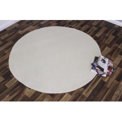 Kusový koberec Nasty 101152 Creme kruh
