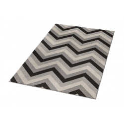 Kusový koberec Chateau 102591 Chevron Braun Taupe Creme