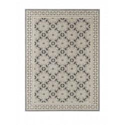 Kusový koberec Chateau 102589 Marble Grau Taupe Schwarz