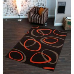 Kusový koberec Prime Pile 102189 Loop Braun Orange