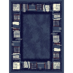 Kusový koberec Prime Pile 101766 Corona Blau