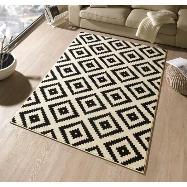 Hanse Home Collection koberce Kusový koberec Hamla 102332, kusových koberců 80x150 cm% Černá - Vrácení do 1 roku ZDARMA vč. dopravy