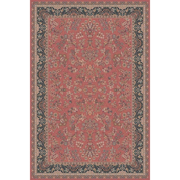 Lano luxusní orientální koberce Kusový koberec Nain 1236-676, kusových koberců 300x400 cm% Červená - Vrácení do 1 roku ZDARMA vč. dopravy