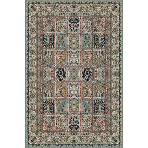 Lano luxusní orientální koberce Kusový koberec NAIN 1258-671, kusových koberců 200x300 cm% Zelená - Vrácení do 1 roku ZDARMA vč. dopravy