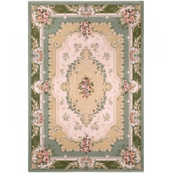 Lano luxusní orientální koberce Kusový koberec Nain 1299-284, kusových koberců 170x240 cm% Zelená - Vrácení do 1 roku ZDARMA vč. dopravy