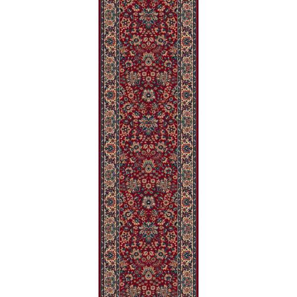 Lano luxusní orientální koberce Běhoun Konia 1164-501, Šířka běhounu šíře 120 cm% Červená - Vrácení do 1 roku ZDARMA vč. dopravy