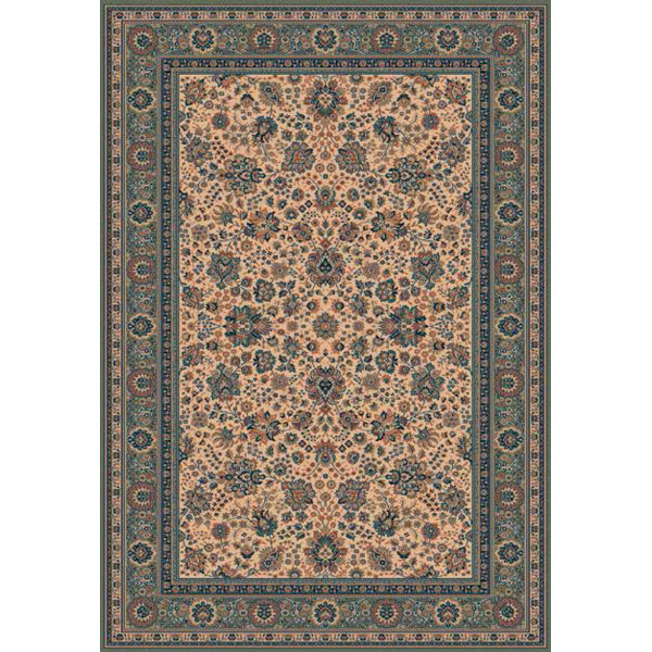 Lano luxusní orientální koberce Kusový koberec Royal 1561-508, kusových koberců 67x135% Zelená - Vrácení do 1 roku ZDARMA vč. dopravy