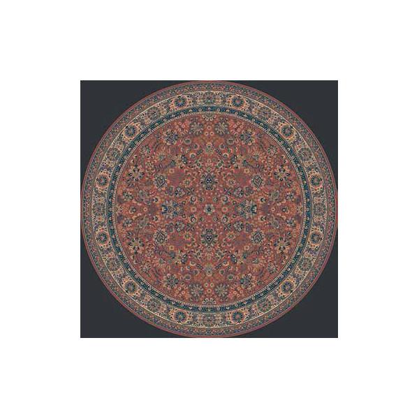 Lano luxusní orientální koberce Kusový koberec Royal 1570-516, koberců Ø 80 Červená - Vrácení do 1 roku ZDARMA