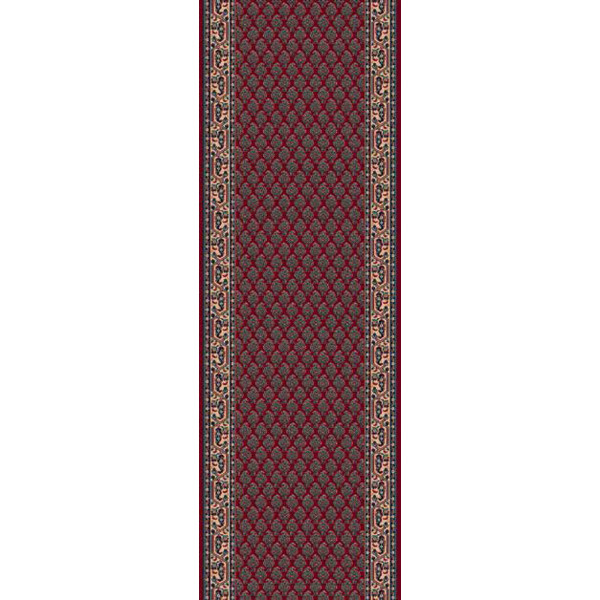 Lano luxusní orientální koberce Běhoun Konia 1181-501, Šířka běhounu šíře 120 cm Červená - Vrácení do 1 roku ZDARMA